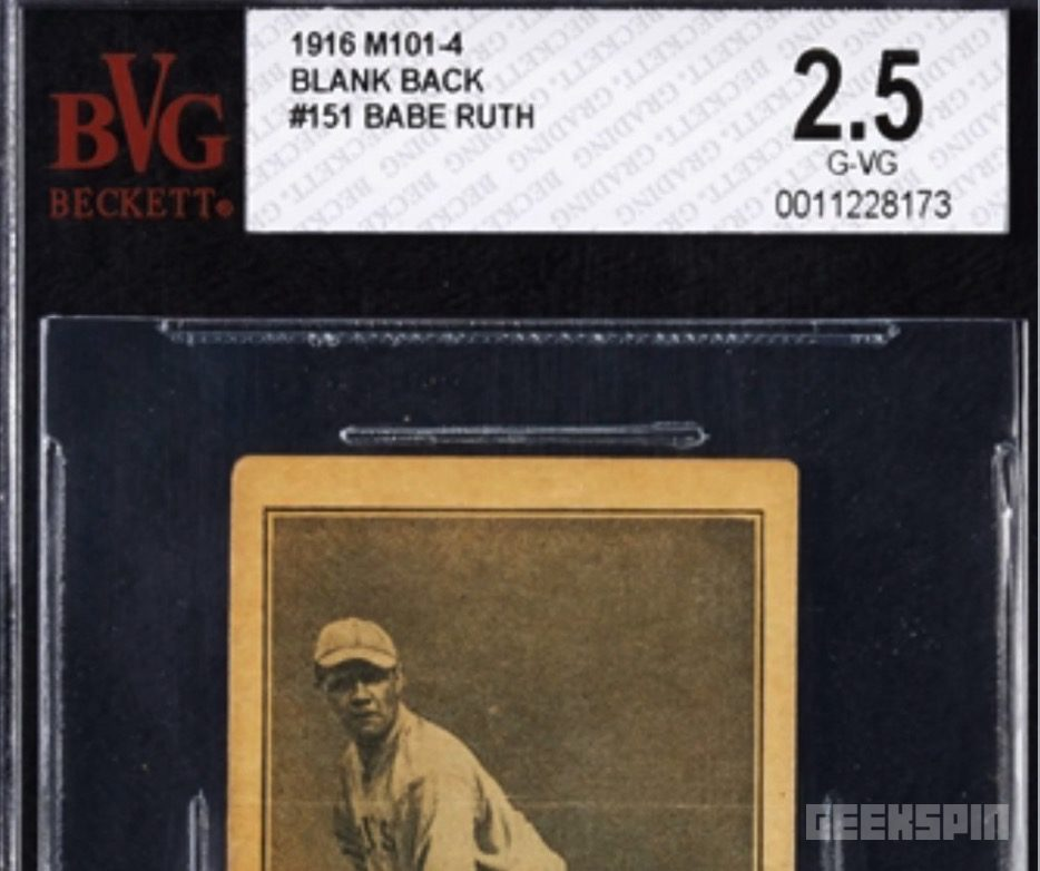 babe ruth baseball card 758x635 - Lucky woman finds $130K baseball card inside a used piano