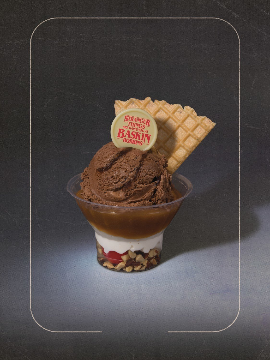 Baskin-Robbins Upside Down Sundae