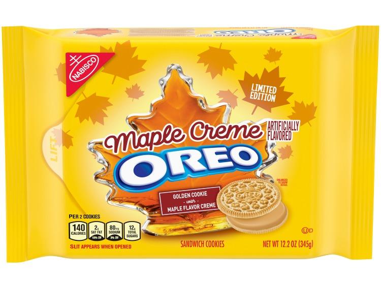 Maple Crème Oreos