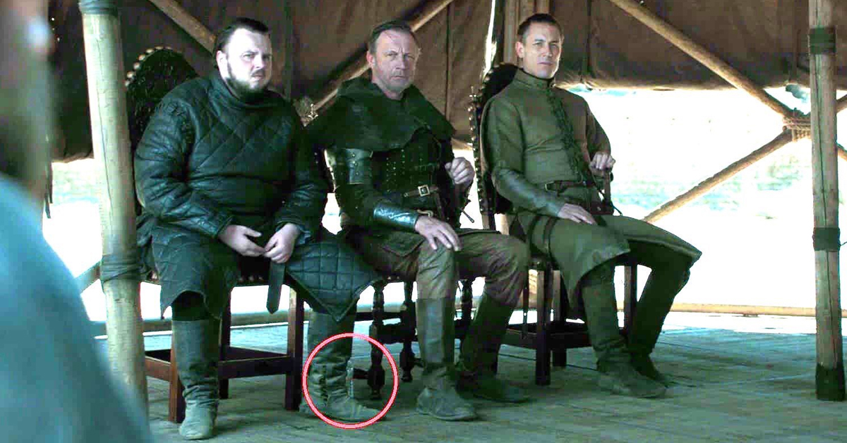 Game of Thrones water bottle snafu