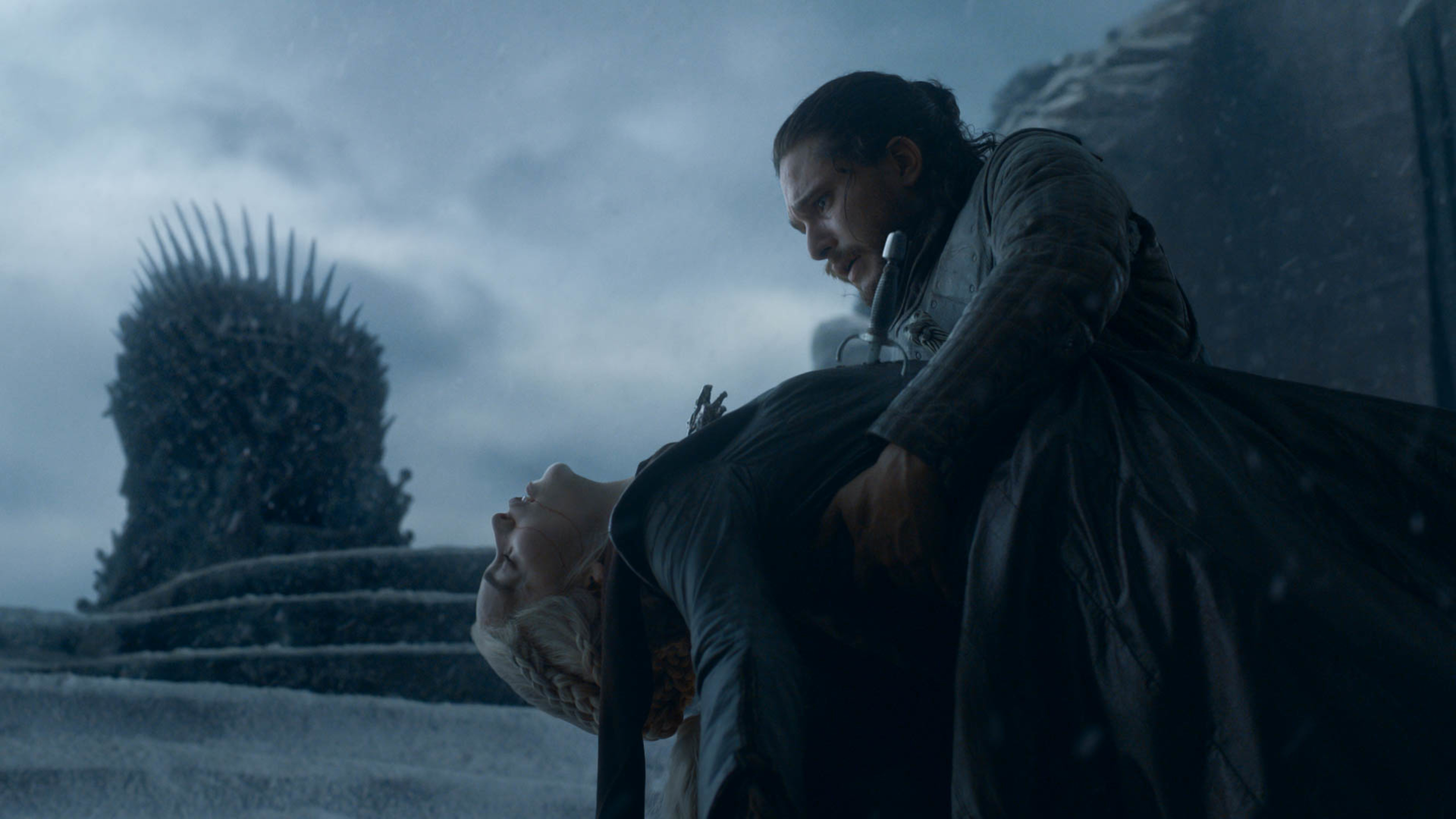 A heartbreaking scene from the Game of Thrones series finale