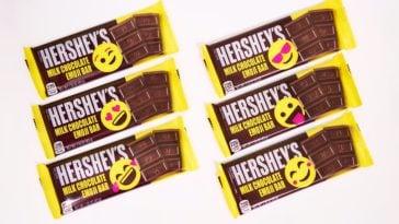 Hershey's milk chocolate bar is getting an emoji-inspired makeover 16