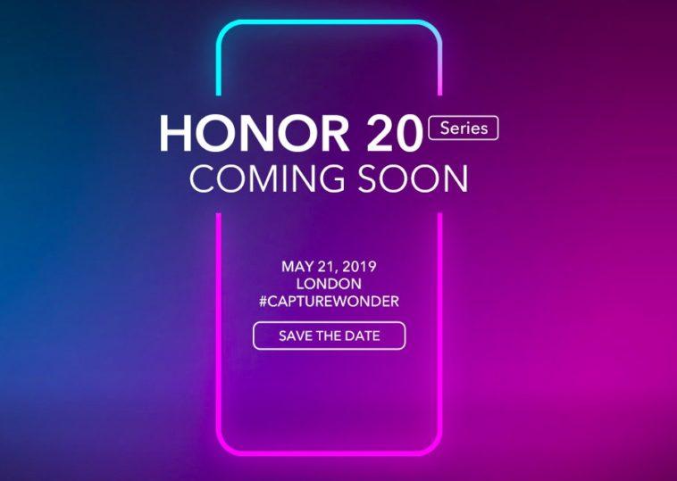 Honor 20 coming soon
