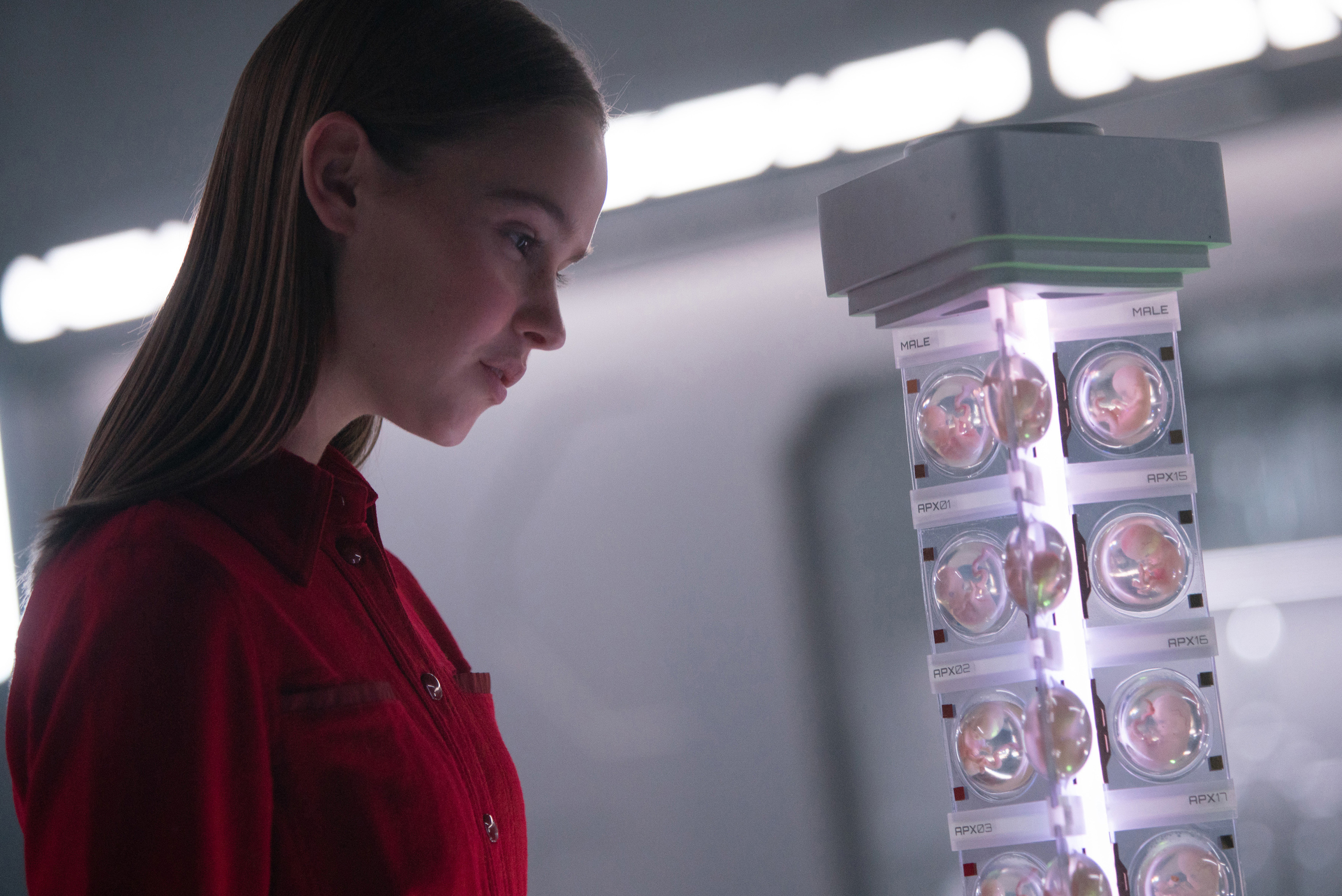 A still from the Netflix film I Am Mother