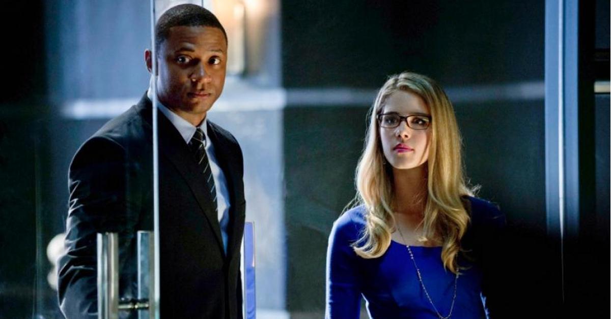 John Diggle and Felicity Smoak