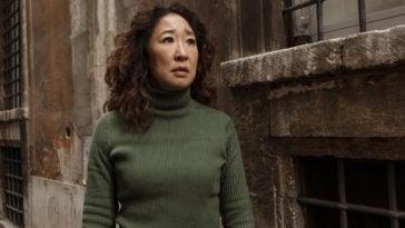 Sandra Oh as Eve in Killing Eve Season 2