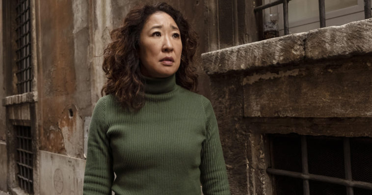 Sandra Oh as Eve in Killing Eve Season 2