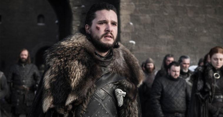 Kit Harington as Jon Snow in Game of Thrones Season 8