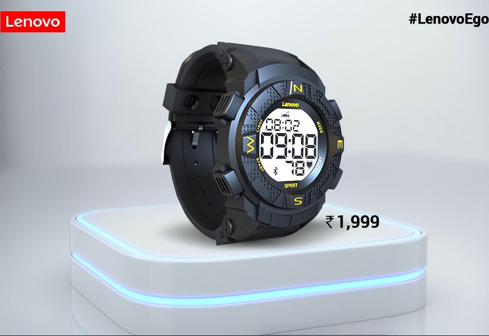 lenovo ego digital smartwatch 150x150 - Lenovo EGO is a $29 smartwatch designed for India