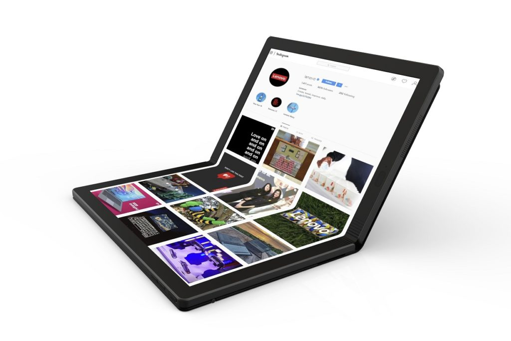 Lenovo ThinkPad X1 foldable PC prototype unveiled ahead of official launch in 2020 12