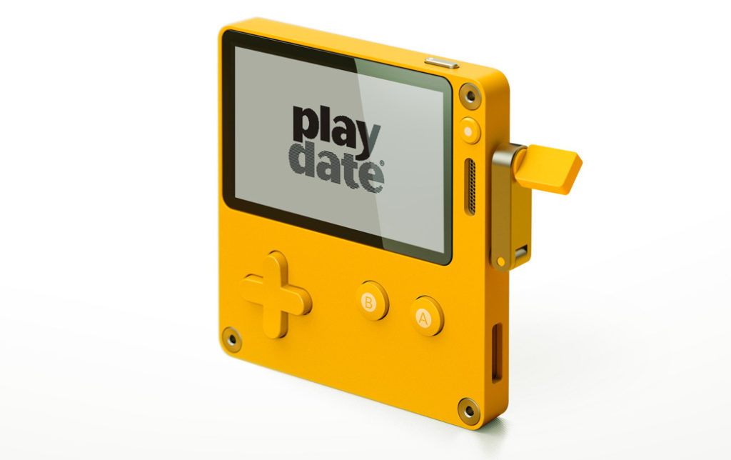 Playdate game console takes cues from the original Game Boy 11