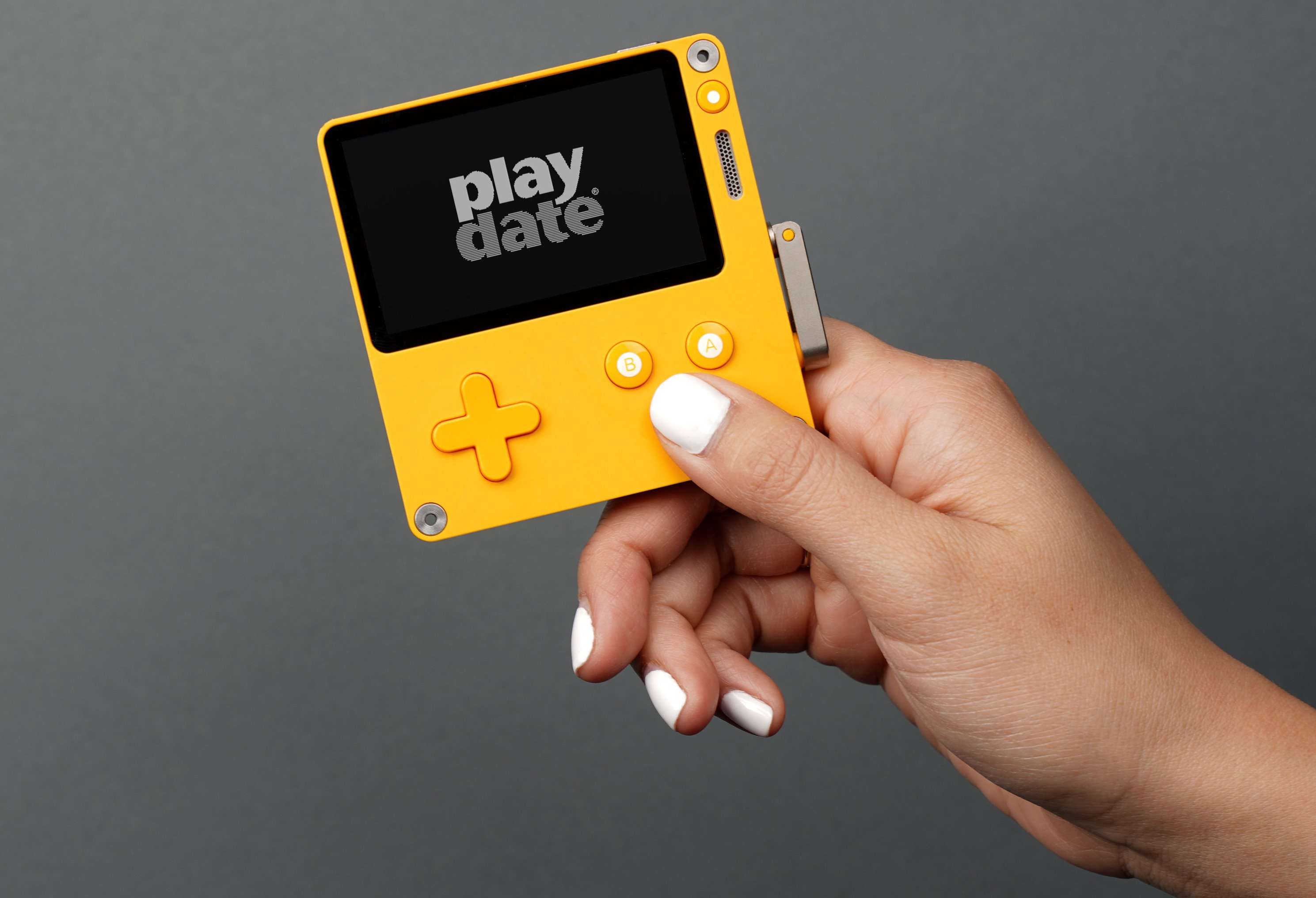 Playdate game console takes cues from the original Game Boy 17