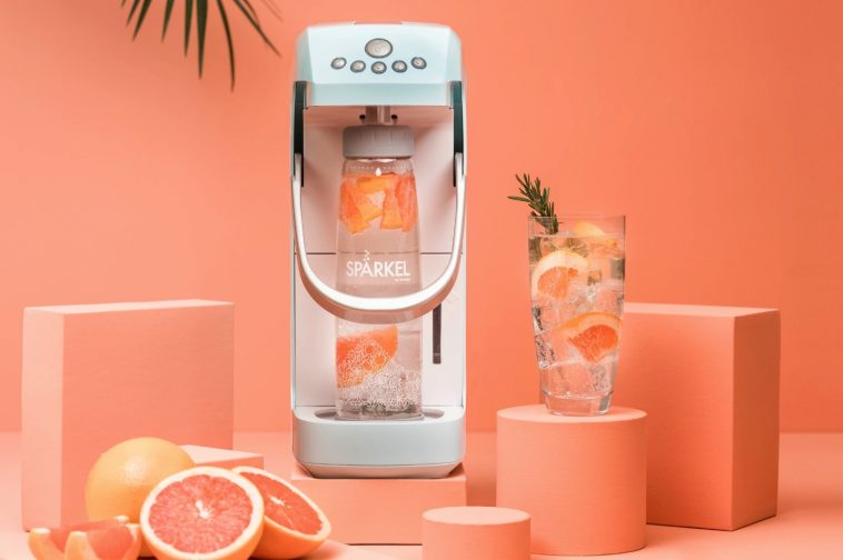 Sparkel is a SodaStream alternative that doesn't require a CO2 tank 12