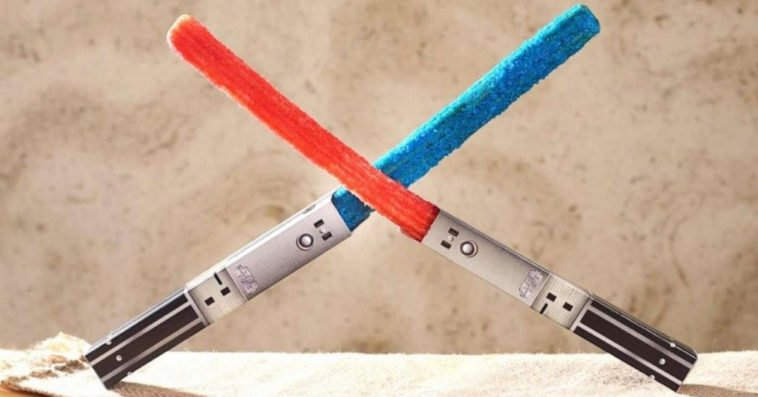 Star Wars lightsaber churros