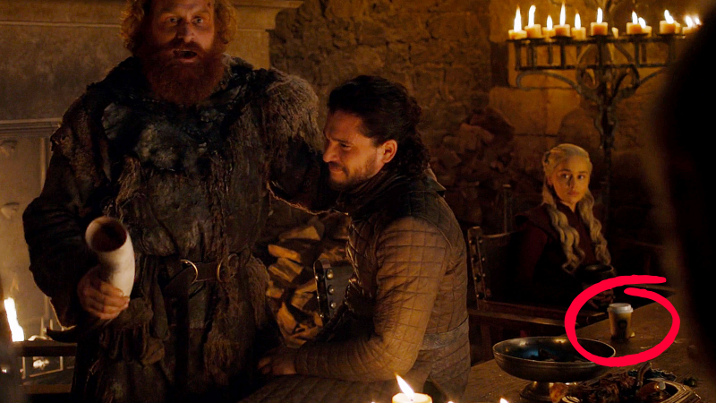 starbucks cup game of thrones 758x426 - HBO has edited out the infamous Starbucks cup in Game of Thrones
