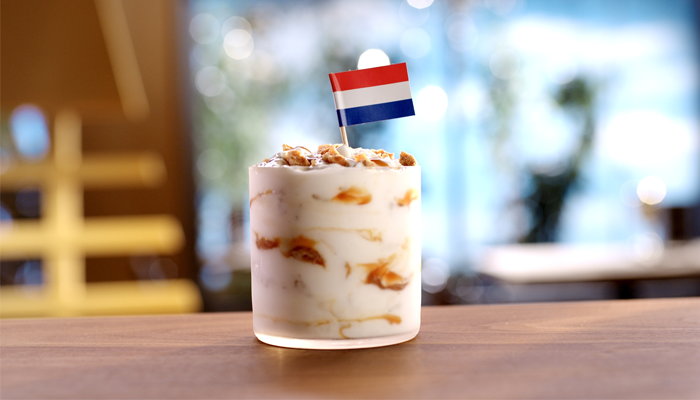Stroopwafel McFlurry from The Netherlands