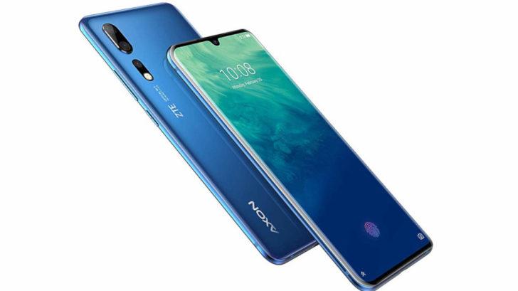 ZTE Axon 10 Pro smartphone