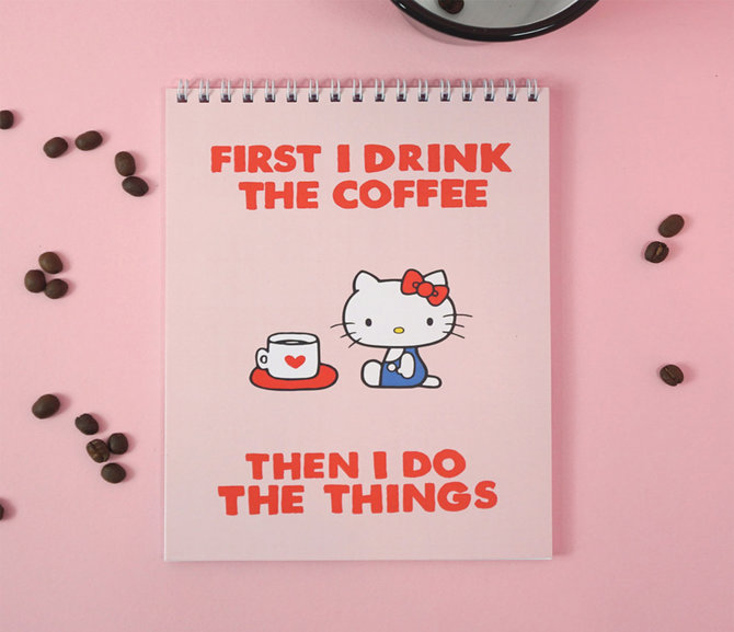 Jolly Awesome x Hello Kitty Notepad: First