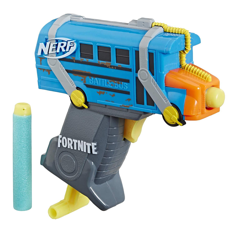 Nerf Fortnite MicroShots Battle Bus Blaster