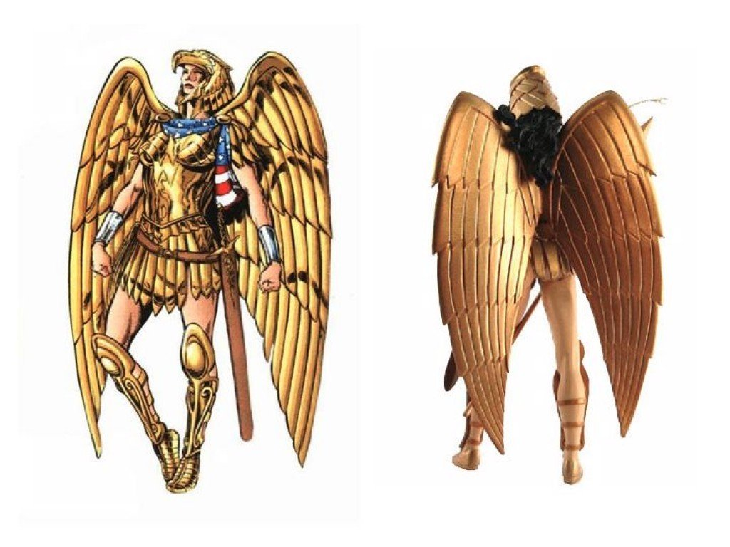 Wonder Woman's Golden Eagle armor from the Kingdom Come comics