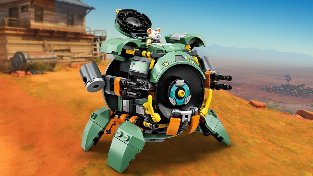 LEGO Overwatch Wrecking Ball set