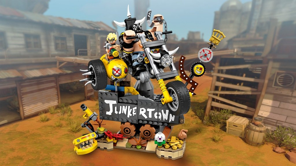 LEGO Overwatch Junkrat & Roadhog set