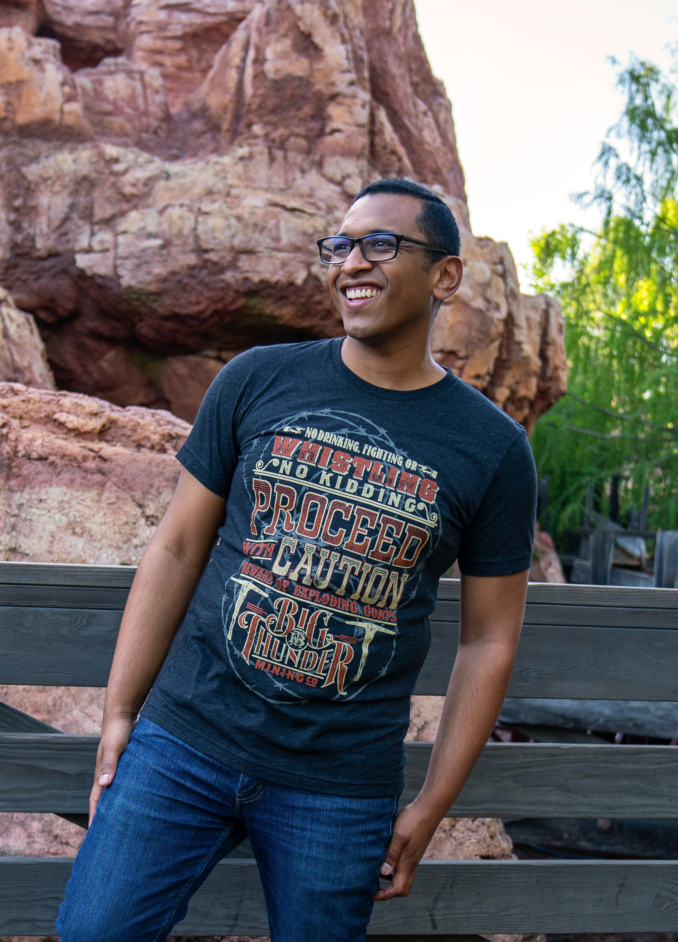Attraction Quote Tee Collection - Big Thunder Mountain Adult Unisex Tee