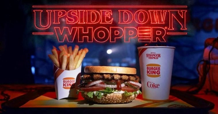 Burger King will serve Upside Down Whoppers in honor of Stranger Things Season 3 12
