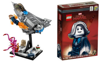 Captain Marvel exclusive SDCC LEGO set