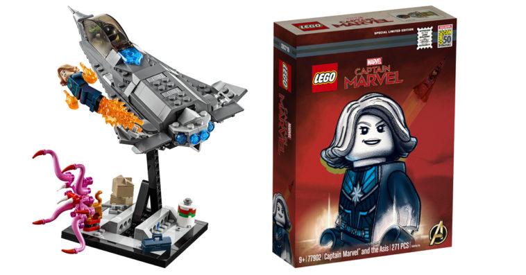 Captain Marvel exclusive SDCC LEGO set