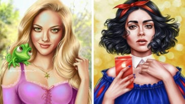 Celebs reimagined as Disney Princesses and Princes (featured image)