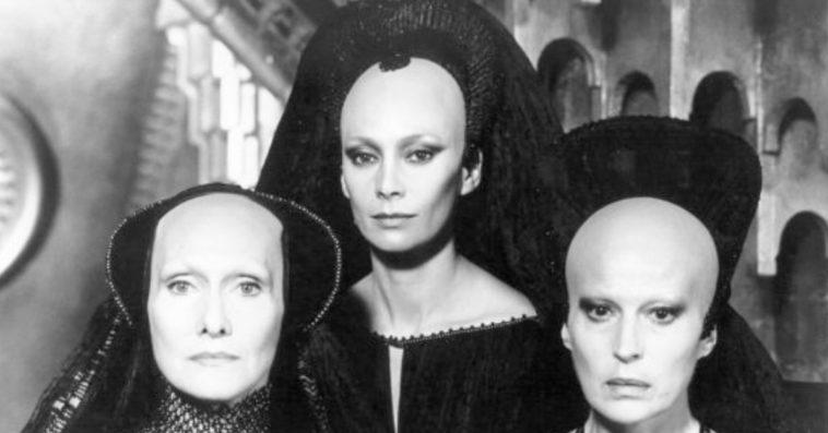 Bene Gesserit sisters in David Lynch's 1984 film Dune