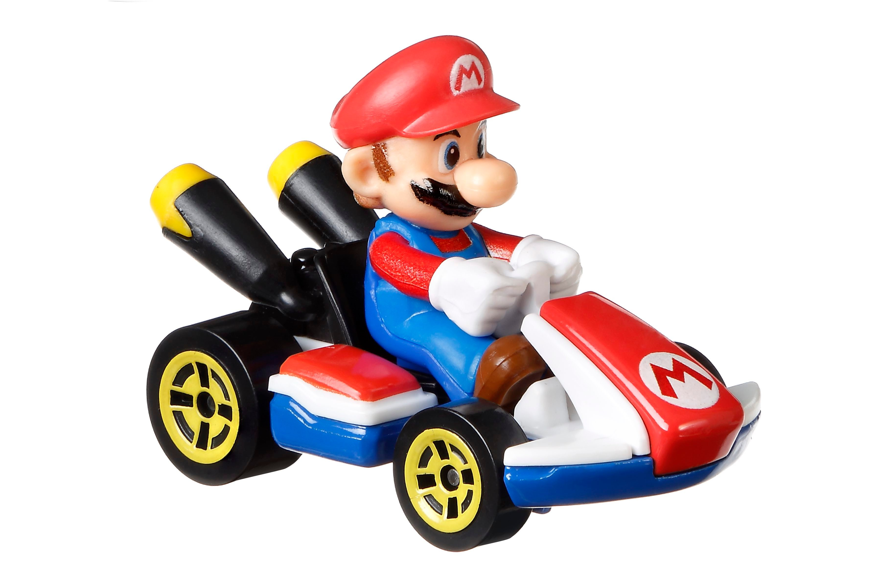 Hot Wheels Mario die-cast
