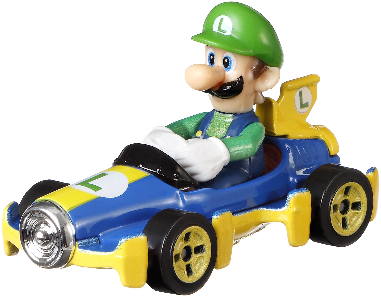 Hot Wheels Luigi die-cast