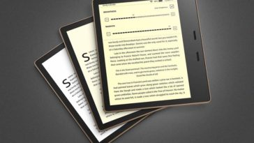 Amazon updates their Kindle Oasis e-reader to be easier to read at night 22
