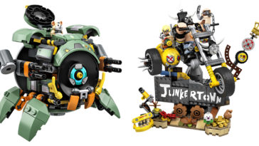 LEGO reveals Overwatch playsets featuring Wrecking Ball, Junkrat, and Roadhog 10