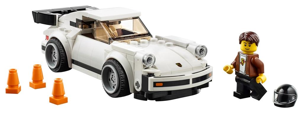 LEGO Speed Champions 1974 Porsche 911 Turbo 3 (complete set)