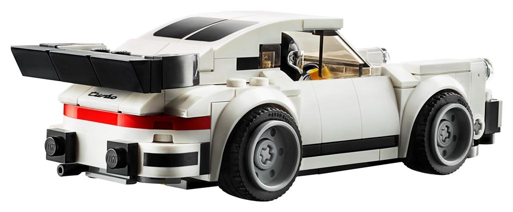 LEGO Speed Champions 1974 Porsche 911 Turbo 3 (rear view)