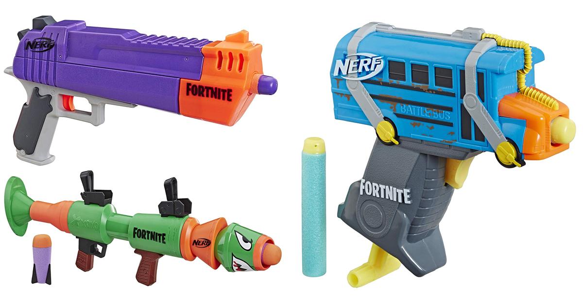 Nerf Fortnite Fall 2019