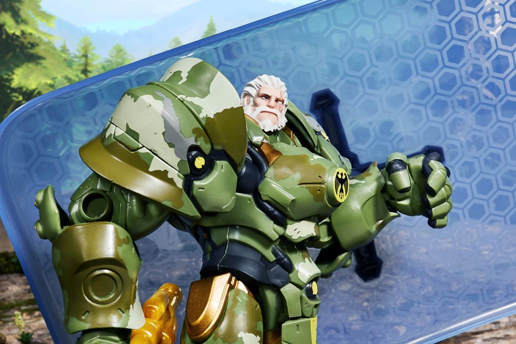 overwatch ultimates series 6 inch reinhardt bundeswehr skin figure lifestyle2 - Nerf unveils a huge Overwatch blaster based on Soldier: 76's signature weapon