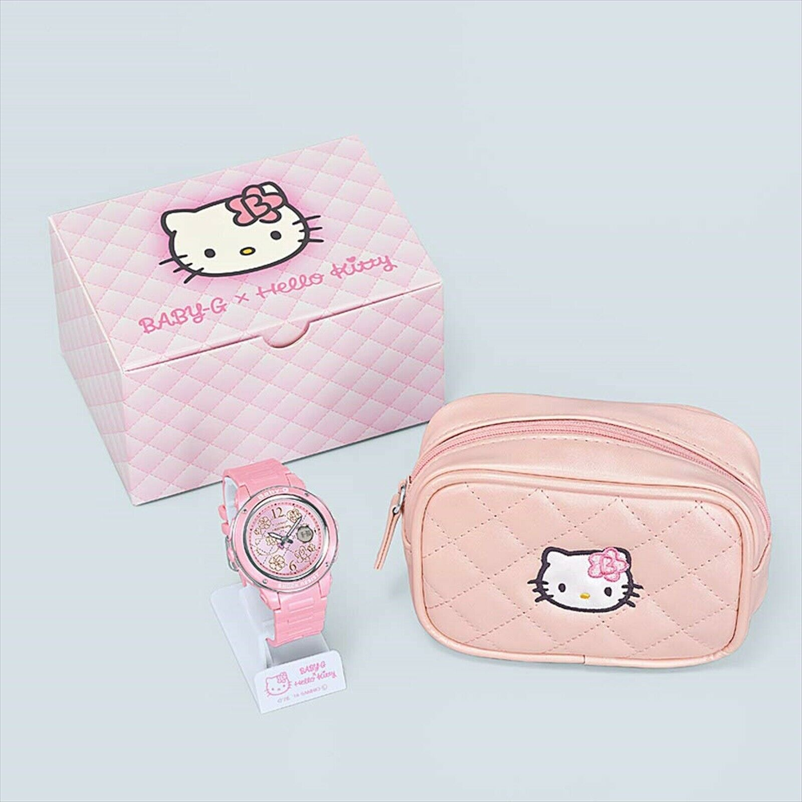Hello Kitty x Baby-G watch package