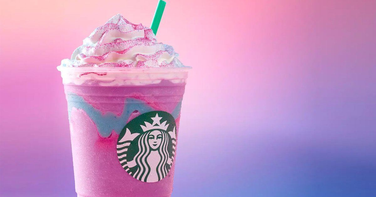 Starbucks' Tie-Dye Frappuccino is inspired by the viral 2017 drink Unicorn  Frappuccino