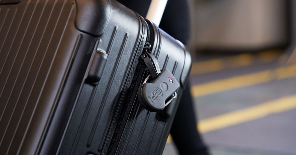 This smart lock doubles as a GPS tracker for both you and your luggage 14