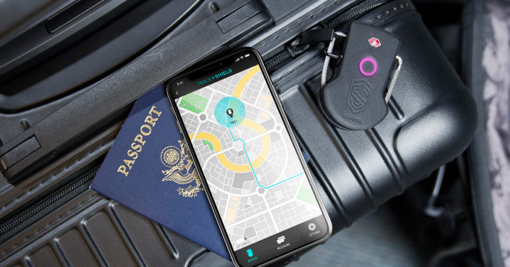This smart lock doubles as a GPS tracker for both you and your luggage 16
