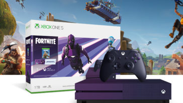 The Xbox One S Fortnite Battle Royale Special Edition Bundle is now available 15