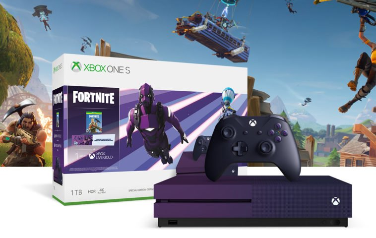 The Xbox One S Fortnite Battle Royale Special Edition Bundle is now available 10