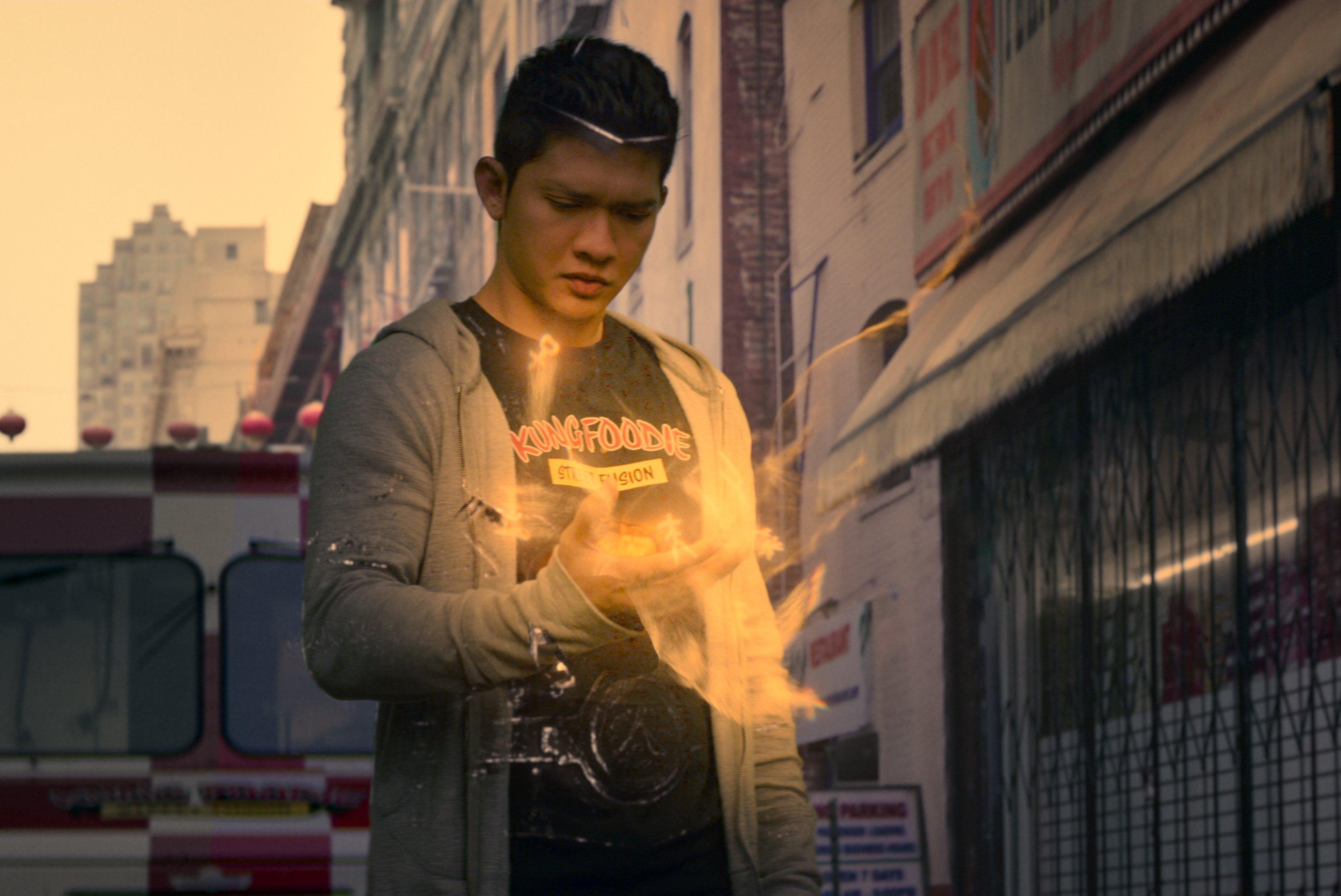 Iko Uwais as Kai Jin, in Netflix's Wu Assassins Season 1