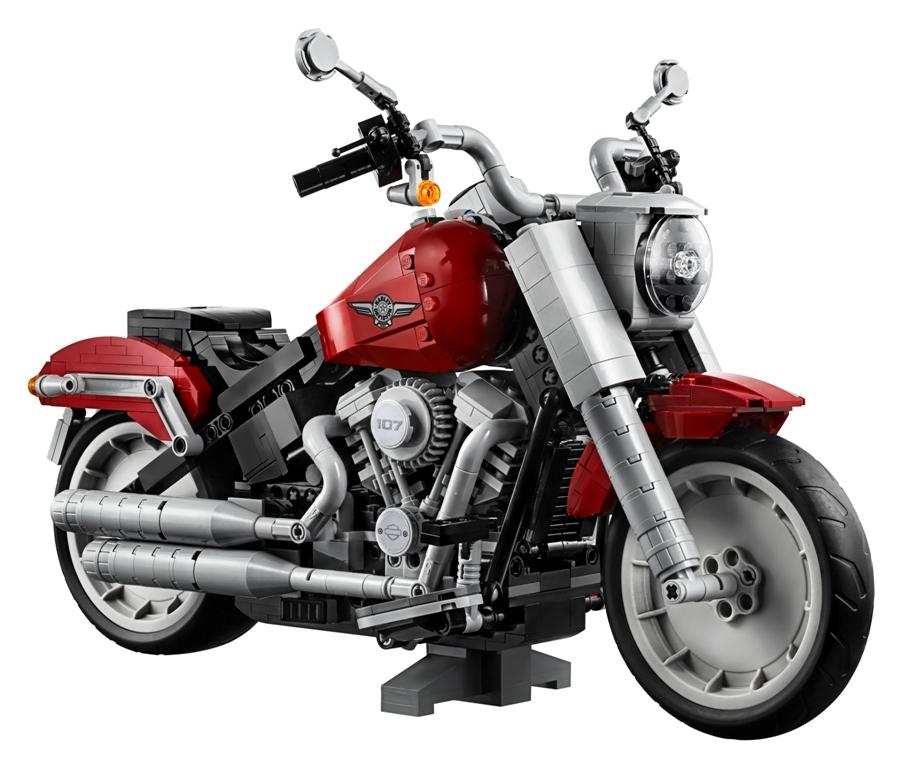 LEGO Creator Expert Harley-Davidson Fat Boy model