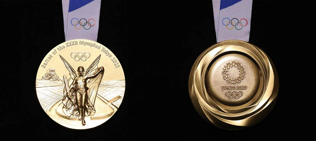 Tokyo 2020 Olympic gold medal