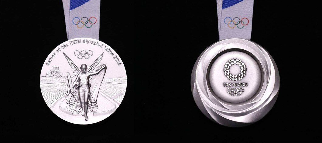 Tokyo 2020 Olympic silver medal